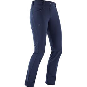 Salomon Wayfarer Straight LT Pants Damen night sky